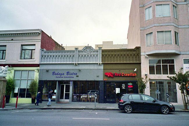 Koduckgirl NATURA Classica Fuji Pro800z Civic Center Architecture Outdoors City SF Film