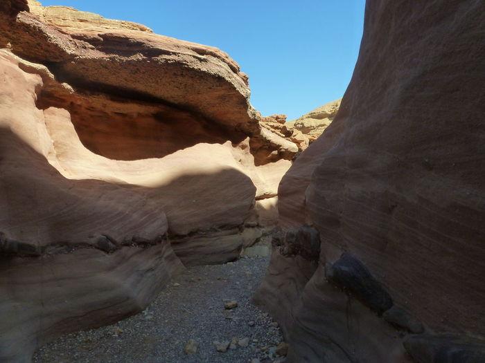 View of a desert