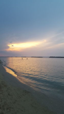 Water Low Tide Swimming Sea Sunset Beach Wave Sand Summer Blue