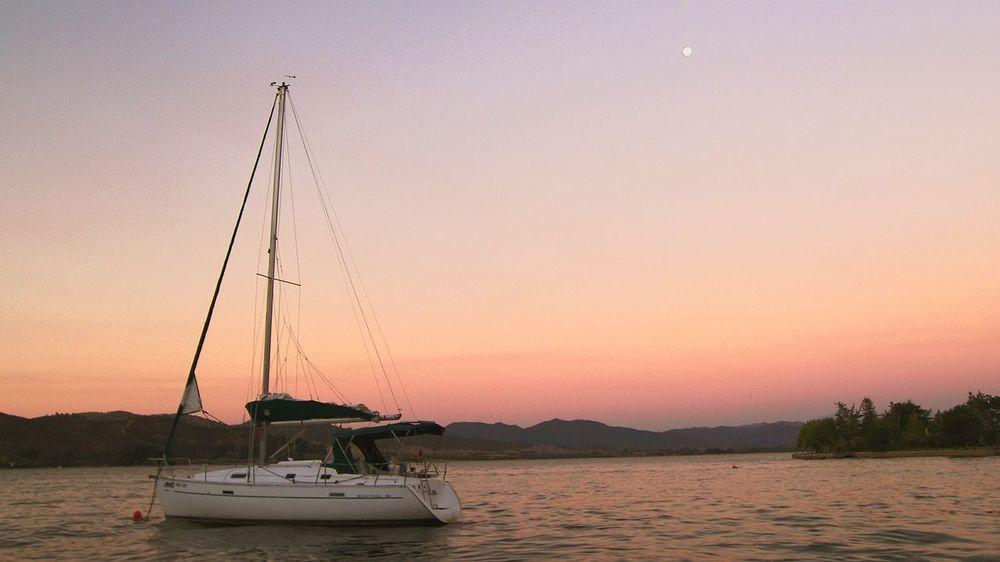 Lake View Lago Rapel Clear Sky Nautical Vessel EyeEmNewHere