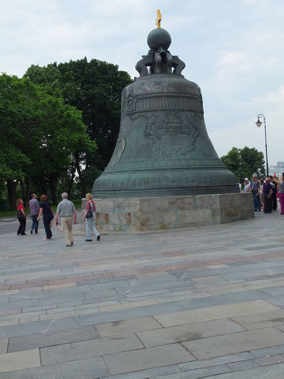 Tzar's Bell (1733-1735) Beautiful Bronze City Croatia Day Incidental People Kremlin Moscow Outdoors Russia Square Tourist Attraction  Trees Tzar Tzar's Bell White Clouds