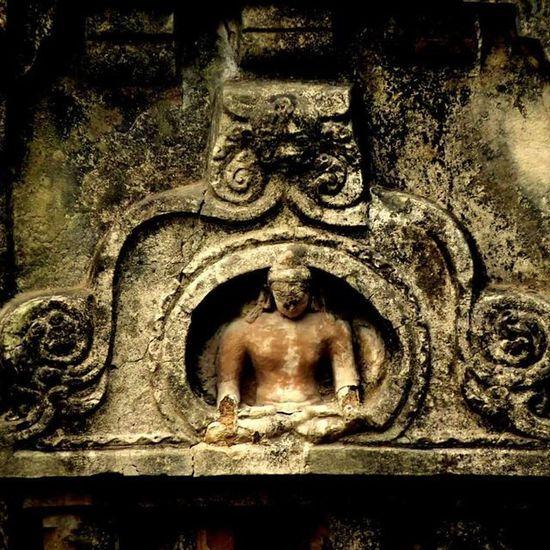 Old Burned Buddha Nalanda Indianhistory Travel Mypixeldiary