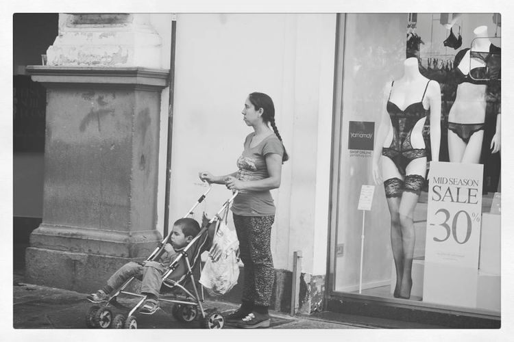 City Street Street City Adults Only Bicycle Adult Outdoors People Men One Person Day Only Women People Photography Blackandwhite Photography Black&white Streetphoto_bw Blackandwhite Streetphotography Two People Poor Visibility Poorman Kid