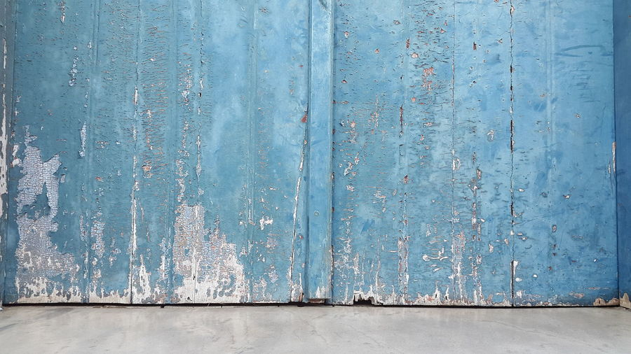 EyeEm Selects Backgrounds Pattern Textured  Weathered Blue Full Frame Close-up Day No People Architecture Outdoors Corrugated Iron