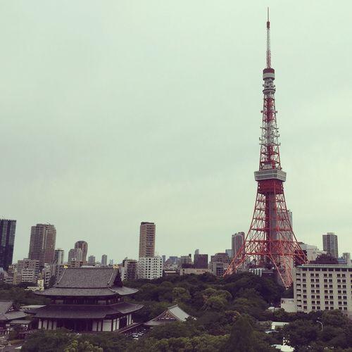 😌 Japan Nippon Tokyo Tokyo Tower Zoujouji Cloudy
