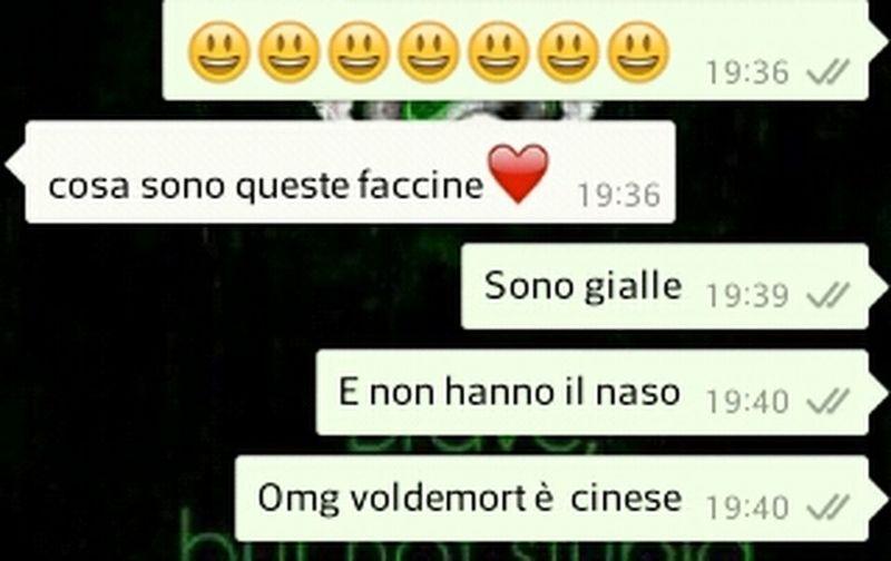 WhatsApp Italia Crazy Voldemort