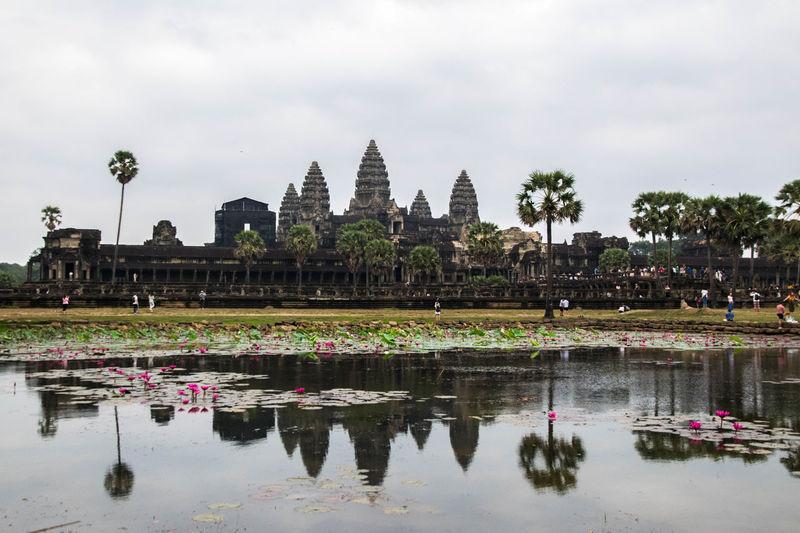 Angkor Wat Angkor Wat Tourist Attraction  Angkor Civilization Ancient Civilization Cambodia
