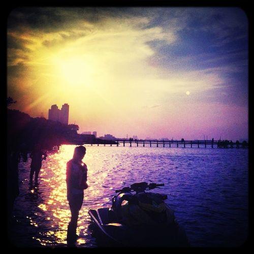 Ancol Beach City Jakarta,indonesia