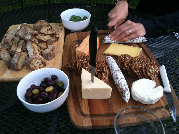 Al Fresco Al Fresco Dining Bread Breakfast Cheese Day Food Freshness Indulgence Leisure Activity Lifestyles Meal Olives Outdoor Eating Part Of Picnic Picnicking Ready-to-eat Salami Serving Size Snack Still Life Unrecognizable Person ShareTheMeal