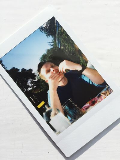 Check This Out That's Me Hello World Eating Chicken Poloroid EyeEm Best Shots
