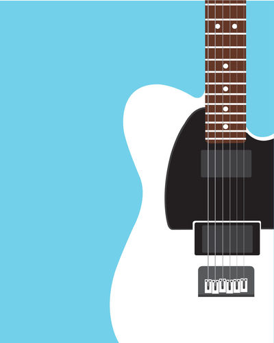 Electric guitar Flat design background Electric Guitar Guitar Guitarist Guitar Love Music Musical Instrument Musician Musical Equipment Music Festival Illustration Flat Design Copy Space String Instrument Arts Culture And Entertainment Blue Studio Shot No People Communication Indoors  Close-up Musical Instrument String Text String Colored Background Western Script Wall - Building Feature Blue Background Rock Music