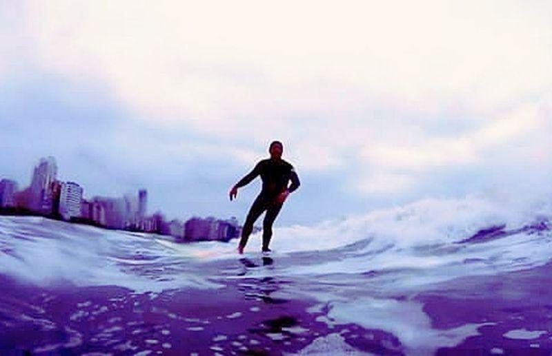 Surf Surf's Up Aloha Mahalo Waves ILoveWater Gopro Goprohero+lcd Surfdepeso 18-030 Longboard Blue Wave Sea Paradise Beach Santos Fotografiaaquatica