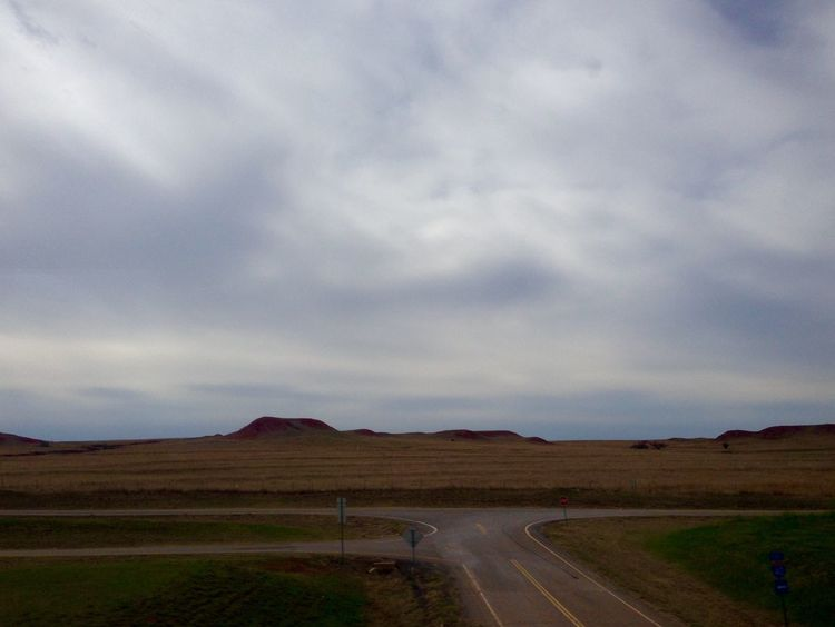 Roadtripping/Somewhere in Oklahoma Landscape_Collection BigSkyCountry Wideopenspaces Highways&Freeways Landscapes With WhiteWall