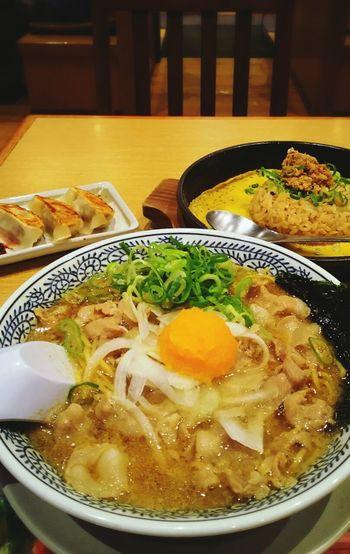 Lunch Ramen 熟成醤油肉そば チャーハン 炒飯 餃子 Foodporn Japan