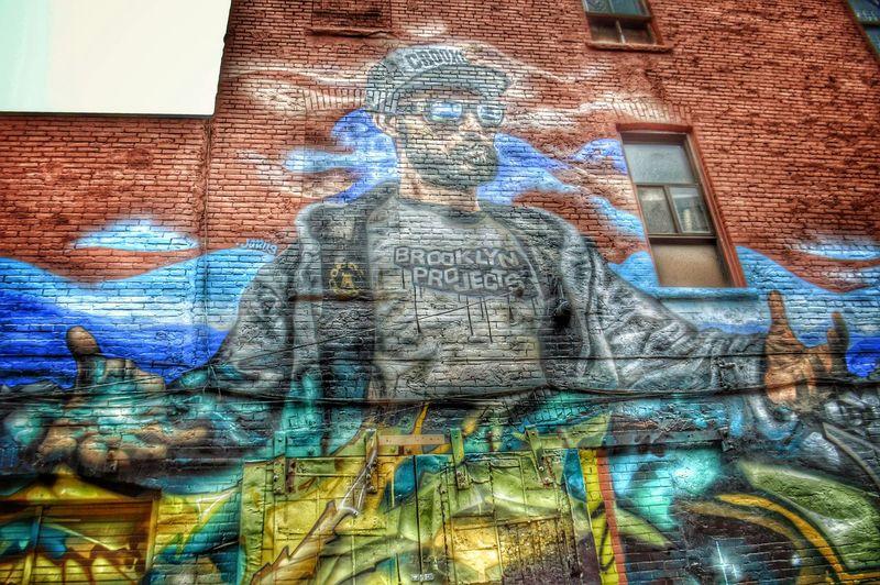 Brooklyn Projects- Graffiti Alley, Toronto, CA Graffiti Graffiti Wall Brooklyn Colors Colorful Awesomness Photography