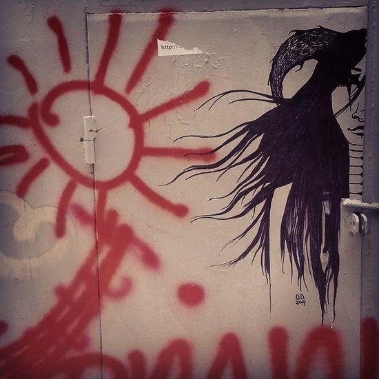 Grafitti Zhytomyr Ukraine Art