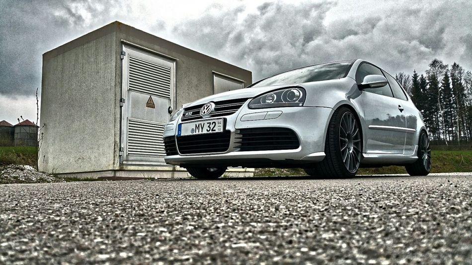 R32 VW Volkswagen Silver  Oz Rims