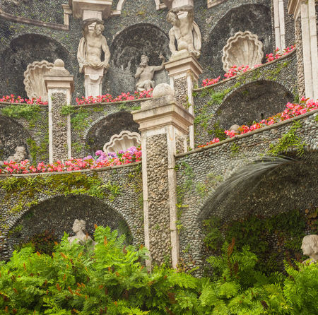 Borromeo's Palace Flowers,Plants & Garden Isola Bella Italian Gardens Lake Maggiore Italy Stresa Italy Architecture History