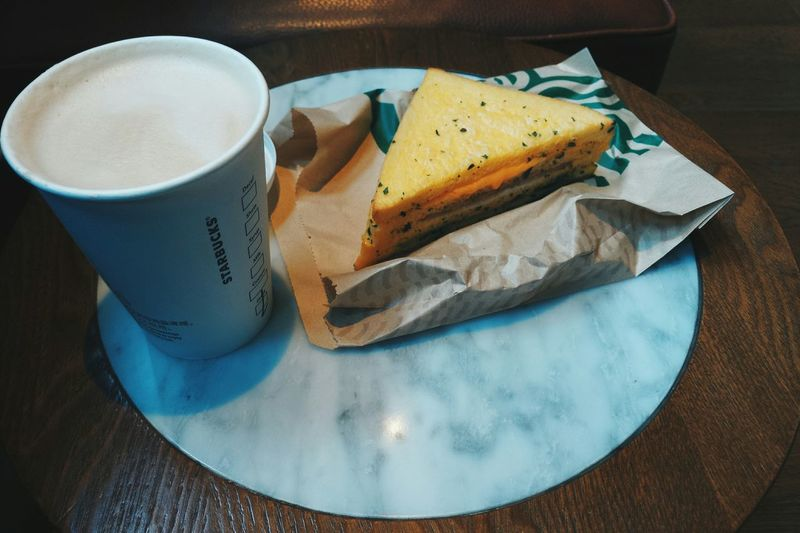 【Lunch】 Starbucks Coffee Time Vscocam Smartphonephotography