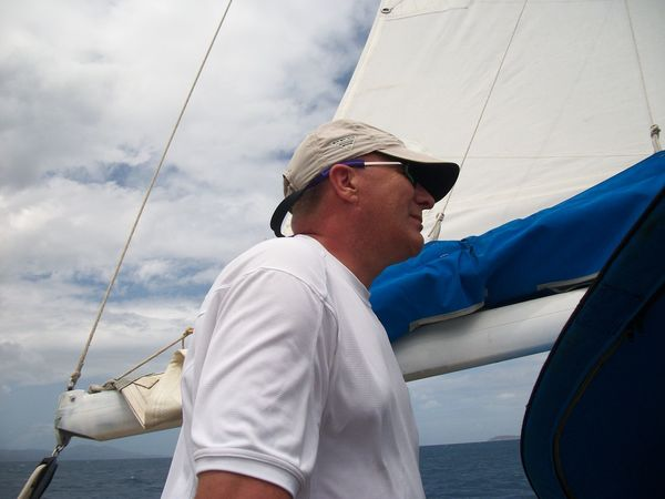 Caribbean Sea Fun Leisure Activity Lifestyles Real People Sail Sailing Standing