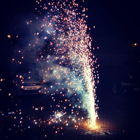 Fireworks Diwali2014 Mumbai