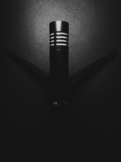 microphone Abstract Black & White Black And White Black&white Blackandwhite Directional Sign Indoors  Microphone Music Mystery Shadow Single Object Sound Studio Shot Technology Tripod Tripode Tripodmini Tripodporn Photographic Memory Monochrome Photography