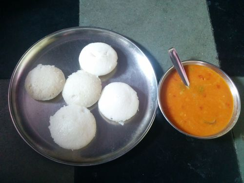 Idly N Sambar Idly Food Indoors  Food And Drink Bowl No People Healthy Eating Dumpling  Food