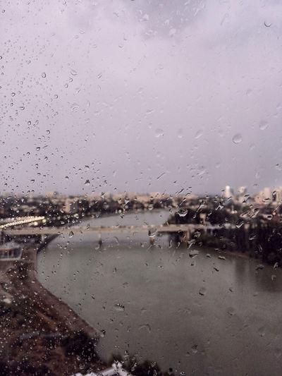 Full Frame Beach Rain Rainfall RainDrop