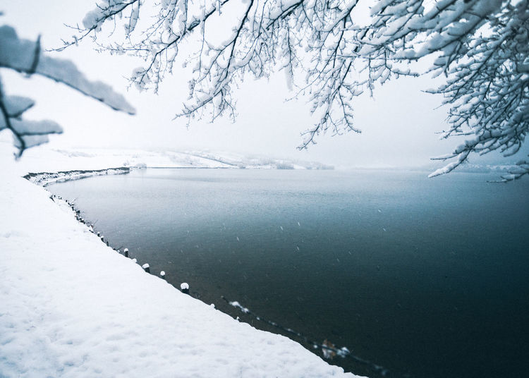 Landscape_Collection Nature Snow ❄ Winter Beauty In Nature Close-up Cold Temperature Day Ice Lake Landscape Mist Nature Nature_collection No People Outdoors Scenics Sea Sky Snow Snow Covered Snowing Tranquility Water Winter