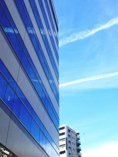 Sky And City Architecture