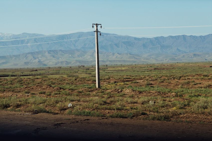 EyeEm Field Telephone Pole West Azarbijan Nature Open Edit OpenEdit Landscape Green Grass Mountain Scenics - Nature Landscape Technology Electricity  Land Electricity Pylon Tranquility Field Beauty In Nature Environment Agriculture Cable No People Tranquil Scene Sky Nature Power Line  Day Mountain Range