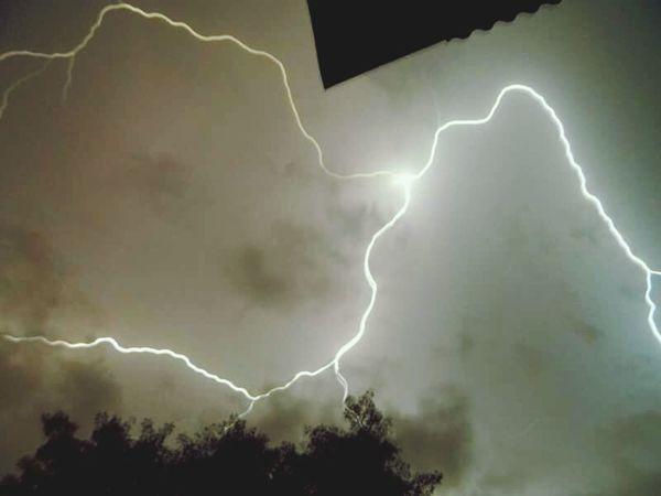 Sky Power In Nature Night Lightning Rayo