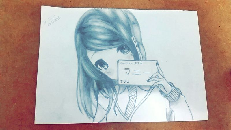 Japanese  Otaku Otakulover Otome Khris Art, Drawing, Creativity Draw Pencil Drawing