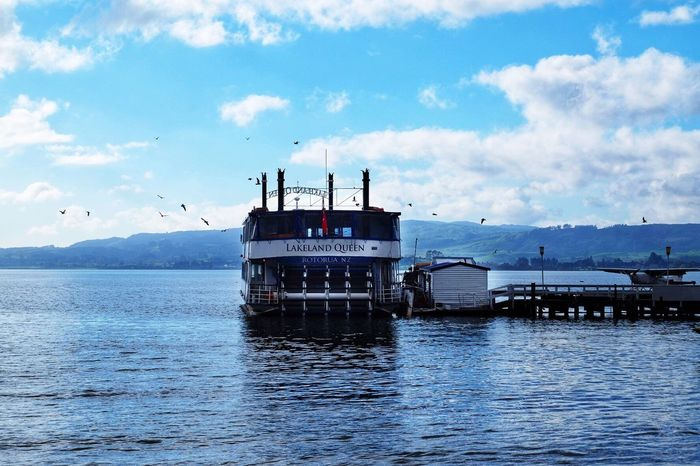 Water Mode Of Transportation Transportation Cloud - Sky Sky Sea Nautical Vessel Nature Beauty In Nature Travel Ship