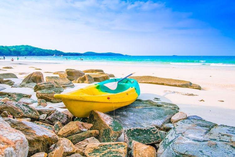 Kayak on the
