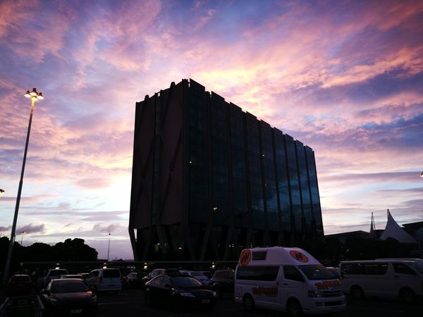 God's hand is upon us. GodsHandIsUponUs HandInTheSky Sunrise Sky And Clouds Nzscenery Auckland International Beauty In Nature Blessed & Thankful :) South Auckland Architecture Cloud - Sky Sunset Built Structure Sky Outdoors Building Exterior