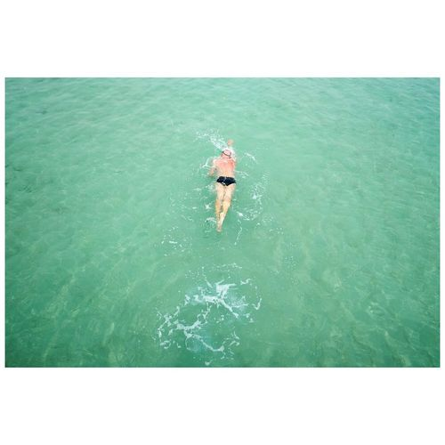 The swimmer Relaxing Athexphotographs Candid Seaside Beach swimming