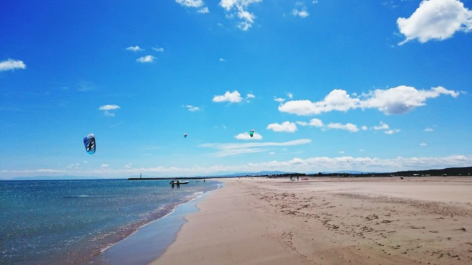 Kytesurf Sunny Afternoon Beach Photography