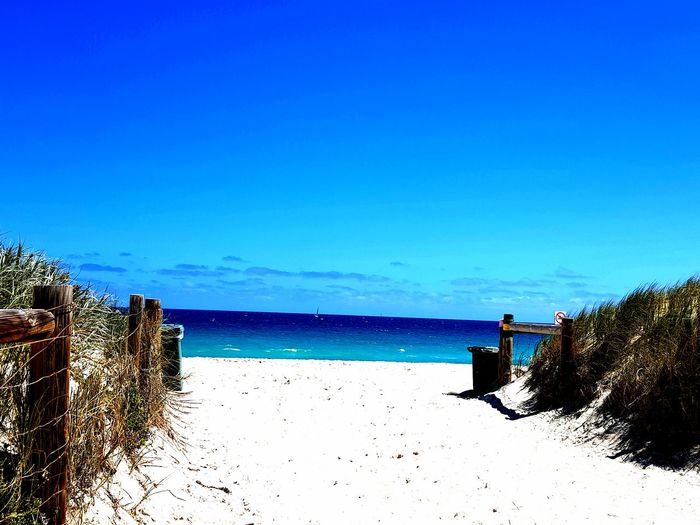 HOT AUSTRALIA🔥🌎 THE BEACH NEAR MY HOUSE🔥 Beach Day Hot Sand EyeEm Best Shots Australia Beach Sea Blue Horizon Over Water Water Nature Outdoors Beauty In Nature Scenics Summer Sand Day Sky