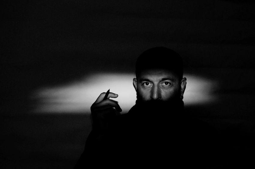 Monochrome EyeEm Best Shots Black & White Blackandwhite Light Man Portrait