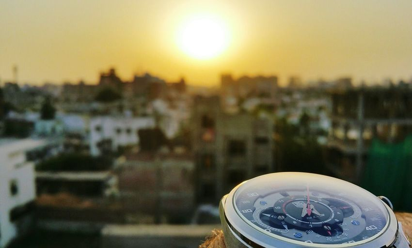 Cityscape No People City Sunset Sky Outdoors Building Exterior Ahmedabad India Watch Mercedes-Benz Sls Edition Beautiful View Ahmedabaddiaries YOLO ✌