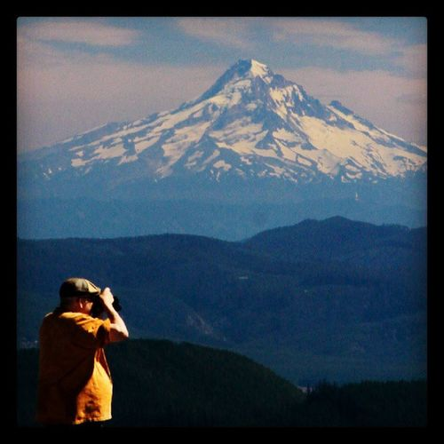Mt Hood from Windy Ridge, Mt St Helens MtHood Oregon Washingtonstate Photogragher dad mtsthelens