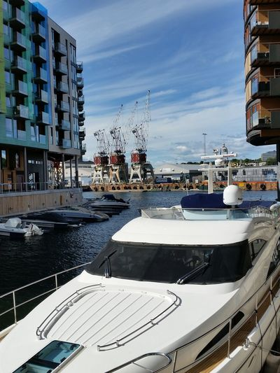 Architecture Rich Oslo Yacht Industrial Harbour City Life Canal Wealth Posh Harbor Water Transportation City Architecture Stories From The City