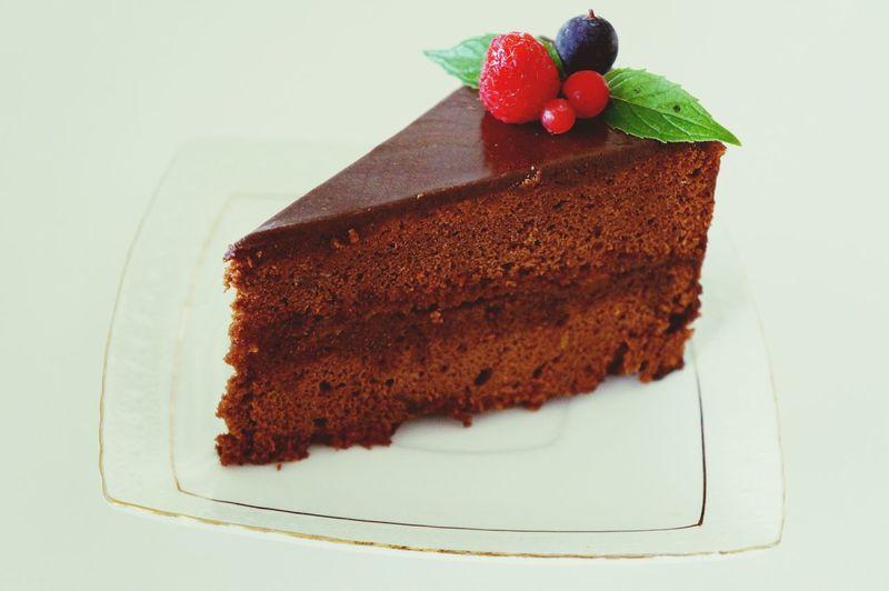 Дело рук моих!! Дело рук моих домашний торт захерторт Dama_kulinar Sachertorte люблюготовить