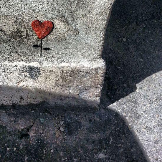Red Love Street Art Street Photography