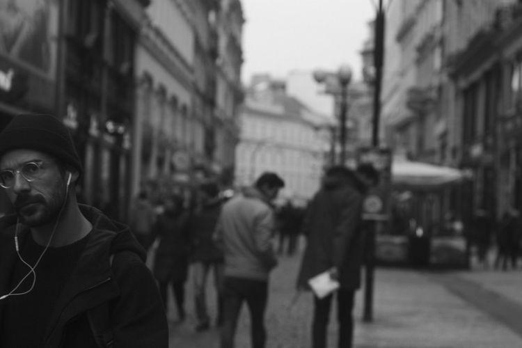 16x9 Autumn Czech Republic Men Outdoors Prague Street Streetphotography