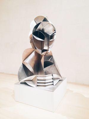 Pondering Thinking Art Sculpture Thought Ponder Museum Artist Portrait