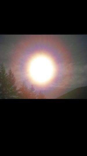 Sun shine and
