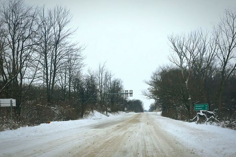 Road Trip Snowpocalypse2015 Taking Photos Snow From My Point Of View
