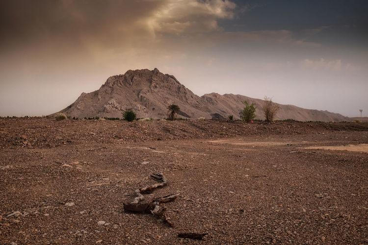 #dessert #oman Mountain View Mountain Pebbles Photography Rocks Sky